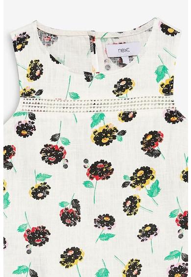 NEXT Bluza din amestec de in, cu imprimeu, fara maneci Femei