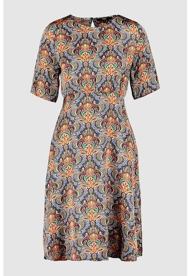 NEXT Разкроена рокля с щампа Жени