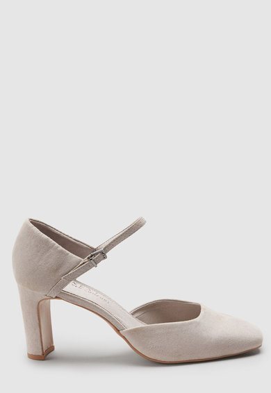 NEXT Pantofi Mary Jane de piele intoarsa ecologica Femei