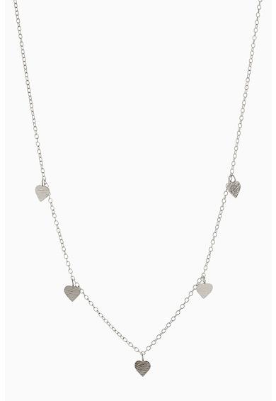 NEXT 925 Sterling ezüst nyaklánc szív alakú medállal női