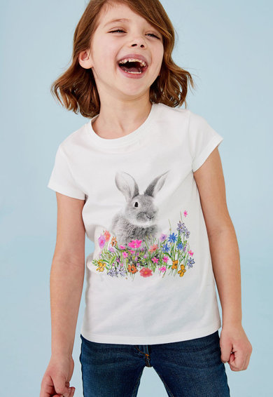 NEXT Mintás póló Lány