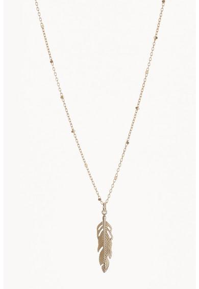 NEXT Sterling ezüst nyaklánc 18 karátos arany bevonattal női