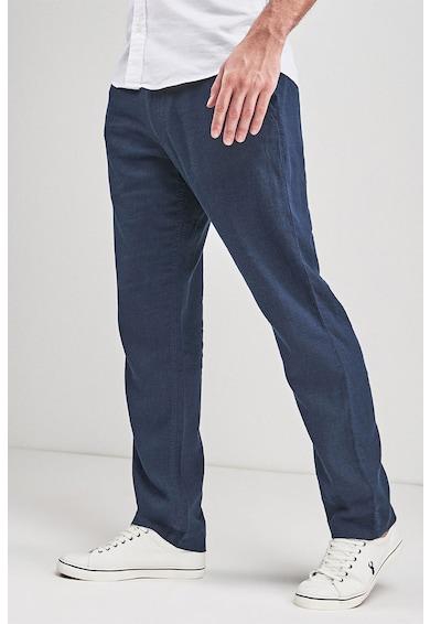 NEXT Pantaloni din amestec de in, cu snur Barbati
