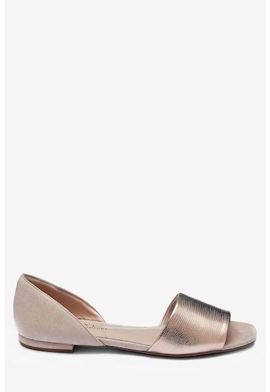NEXT Sandale d'Orsay cu aspect metalizat Femei