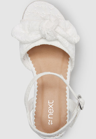 NEXT Sandale wedge tip espadrile Fete
