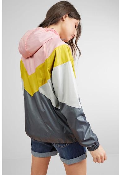 NEXT Jacheta usoara, impermeabila, cu model colorblock Femei