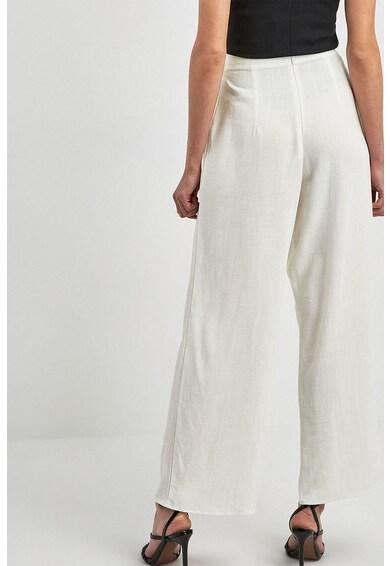 NEXT Pantaloni culotte din amestec de in, cu croiala ampla Femei