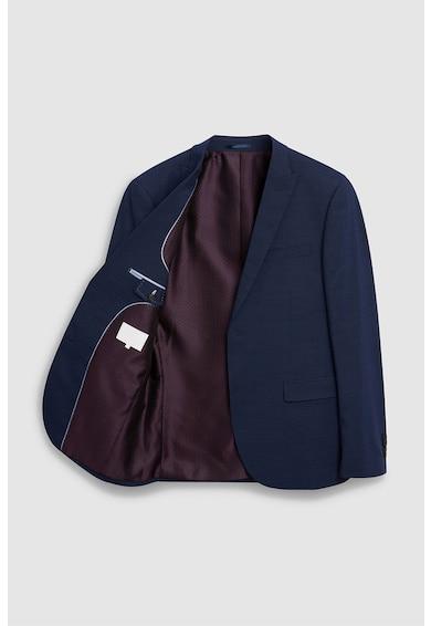 NEXT Sacou slim fit elegant, din lana tollegno Barbati
