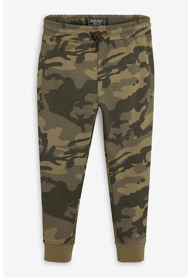 NEXT Pantaloni sport cu imprimeu camuflaj Baieti