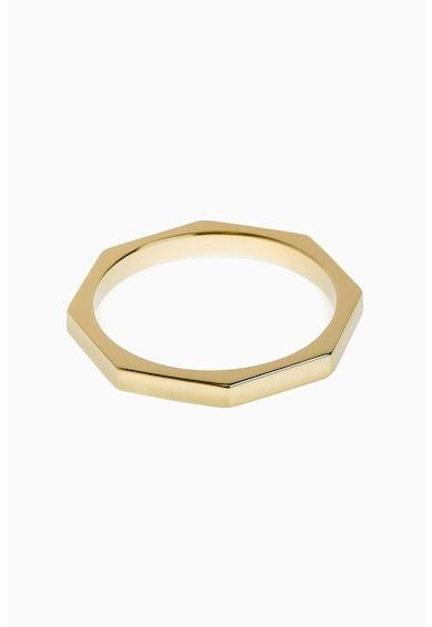 NEXT Сребърен пръстен с покритие от 18К злато Жени