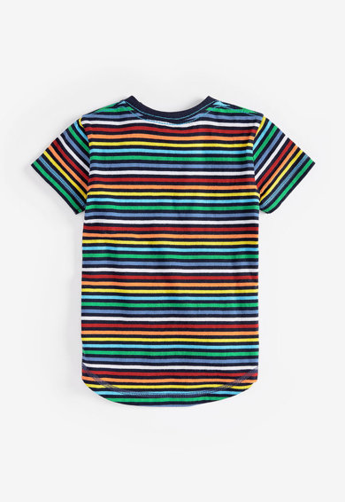 NEXT Set de tricouri de bumbac, cu imprimeu - 3 piese Baieti