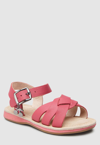 NEXT Pantofi de piele cu inchidere cu catarama Fete