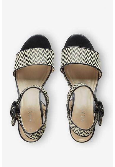NEXT Sandale wedge cu aspect impletit Femei