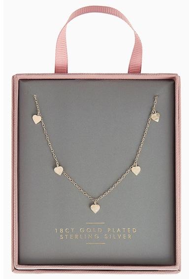 NEXT Nyaklánc szív alakú medálokkal női