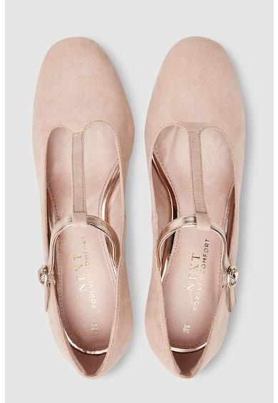 NEXT Pantofi Mary Jane cu bareta in forma de T si toc masiv Femei