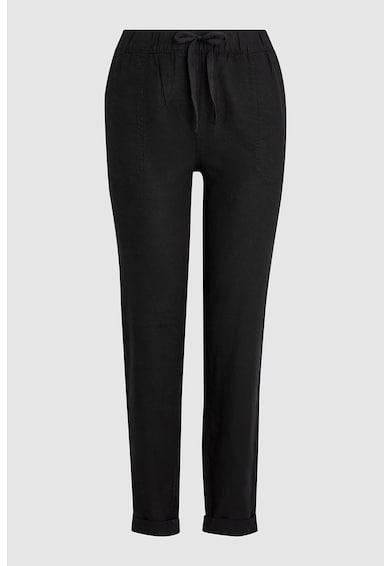 NEXT Pantaloni conici din amestec de in Femei
