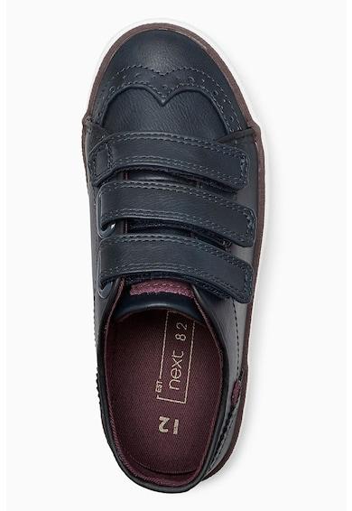 NEXT Pantofi de piele si piele ecologica, cu velcro Baieti