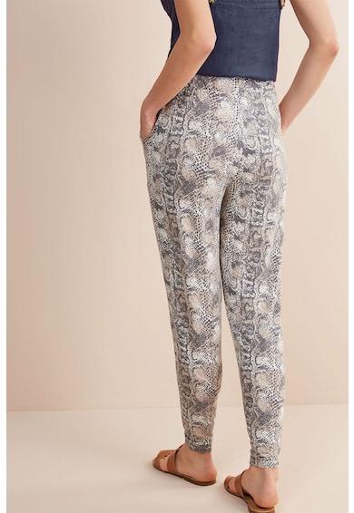 NEXT Pantaloni jogger de jerseu cu aspect de piele de sarpe Femei