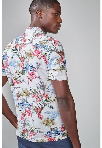 NEXT Camasa slim fit cu imprimeu tropical Barbati