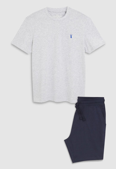 NEXT Къса пижама от жарсе Мъже