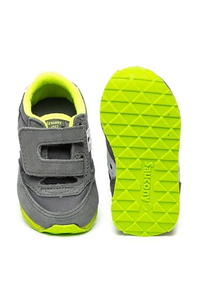 Saucony Pantofi sport cu garnituri de piele intoarsa Jazz Baieti