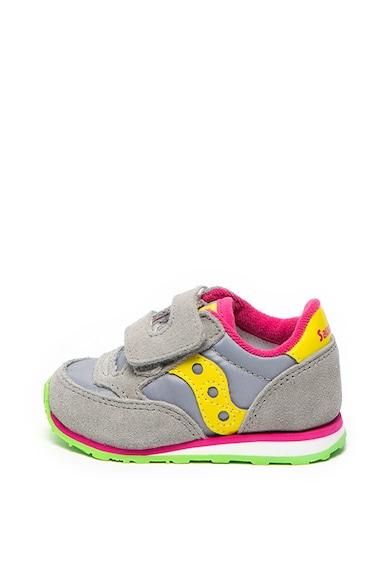 Saucony Pantofi sport cu insertii de piele intoarsa Jazz Fete