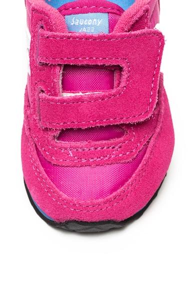 Saucony Pantofi sport cu garnituri de piele intoarsa Jazz Fete