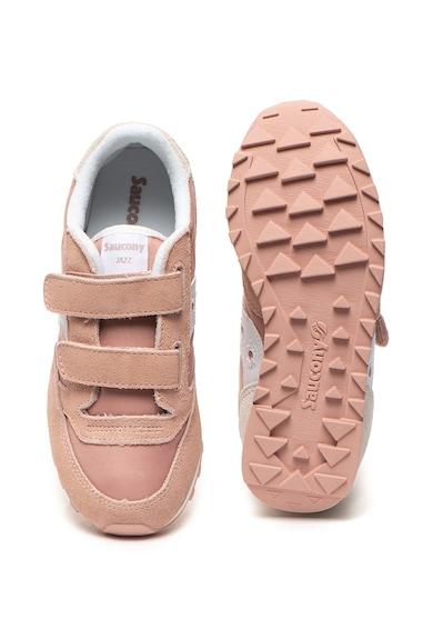Saucony Pantofi sport usori cu garnituri de piele intoarsa Jazz Fete