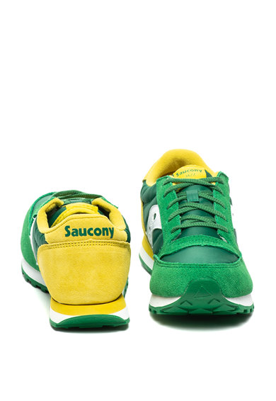 Saucony Pantofi sport cu garnituri de piele intoarsa Jazz Original Baieti