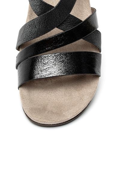 Tamaris Sandale din material textil si piele ecologica cu insertii stralucitoare Femei