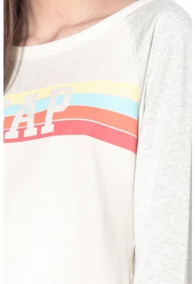 GAP Раиран суитшърт с лого Жени