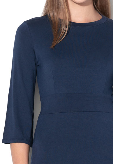 United Colors of Benetton Bővülő ruha háromnegyedes ujjakkal női