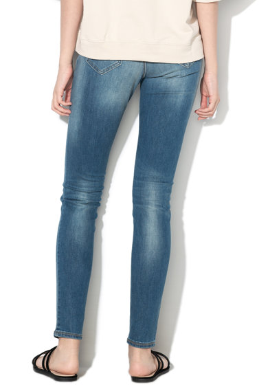 United Colors of Benetton Blugi skinny cu talie medie si efect push-up Femei