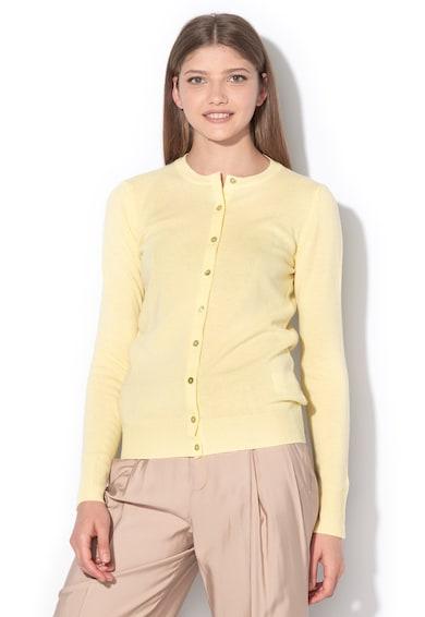 United Colors of Benetton Cardigan din lana merinos cu nasturi Femei