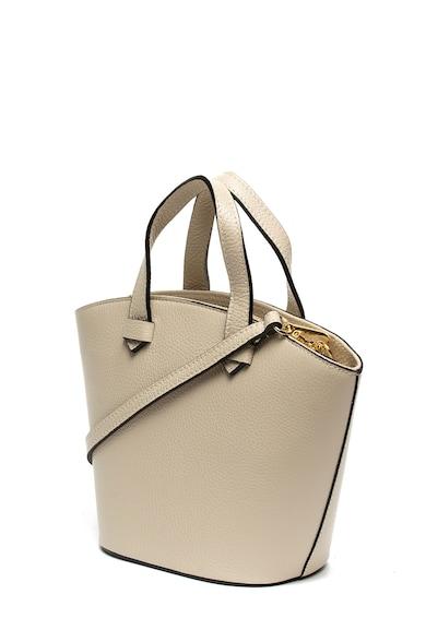 Chiara Canotti Kis bőr tote fazonú táska női