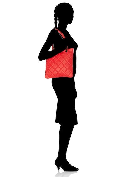 Antonia Moretti Geanta tote de piele, cu aspect matlasat Femei