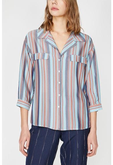 KOTON Раирана риза с 3/4 ръкави Жени