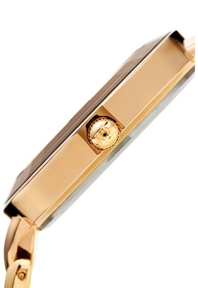 AKRIBOS XXIV Ceas rotund decorat cu diamante Femei