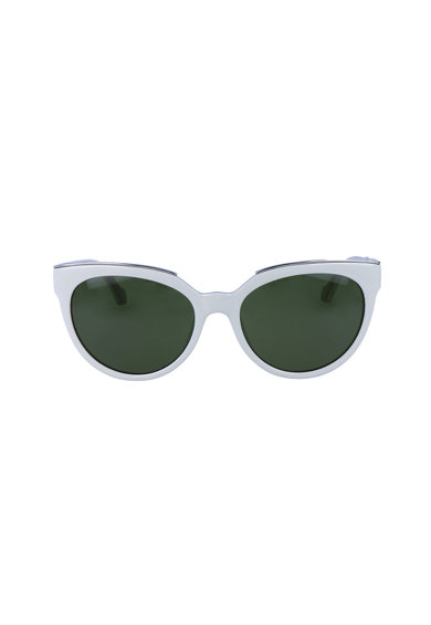 Balenciaga Слънчеви очила Cat Eye с лого Жени