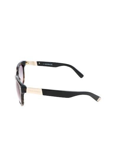 Dsquared Unisex szögletes napszemüveg színátmenetes lencsékkel női
