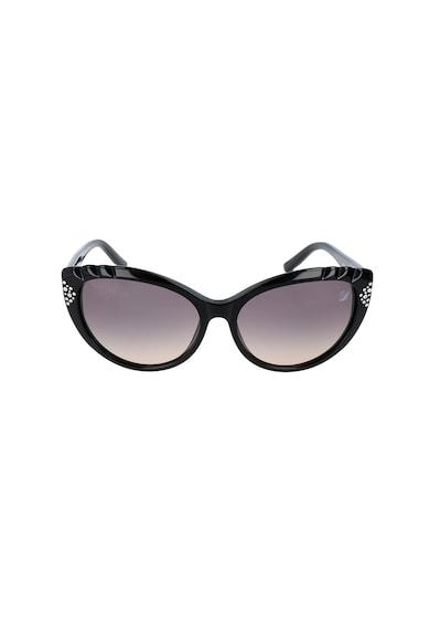 Swarovski Cat-Eye napszemüveg Swarovski kristályokkal női