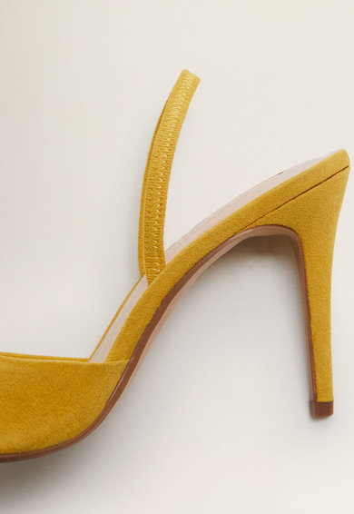 Mango Pantofi slingback, cu varf ascutit Austin Femei