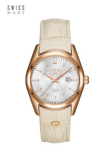 Roamer of Switzerland Овален часовник с кожена каишка Жени