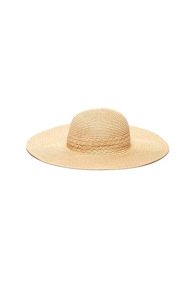 Vero Moda Palarie de paie, pentru plaja Femei
