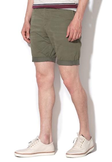 Jack&Jones Pantaloni chino scurti cu o curea Ricko Barbati