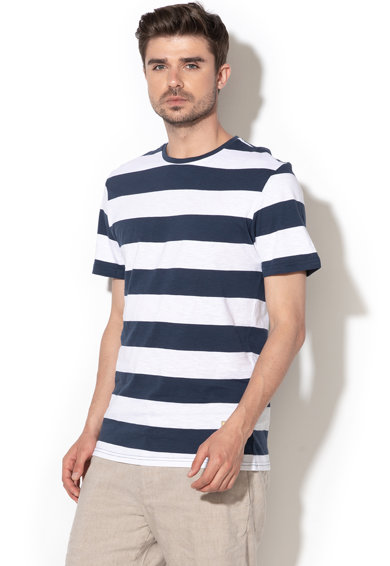Only & sons Tricou cu model in dungi Patterson Barbati