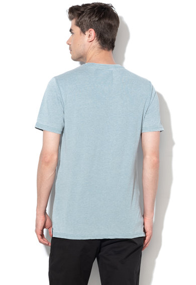 Only & sons Tricou slim fit cu imprimeu grafic si text Burnout Barbati