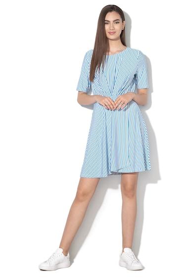 Vero Moda Rochie mini evazata, cu model in dungi Mava Femei