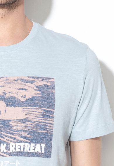 Selected Homme Tricou de bumbac cu imprimeu Viktor Barbati