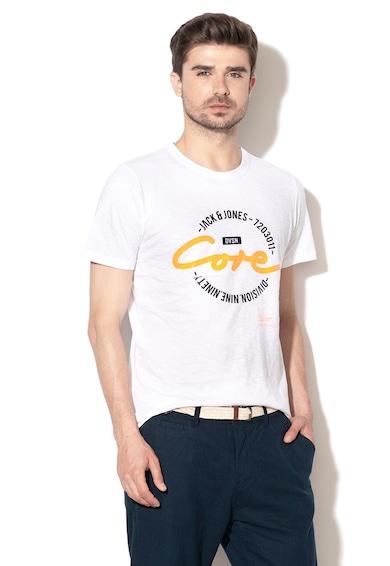 Jack&Jones Tricou slim fit cu imprimeu logo Brush Barbati